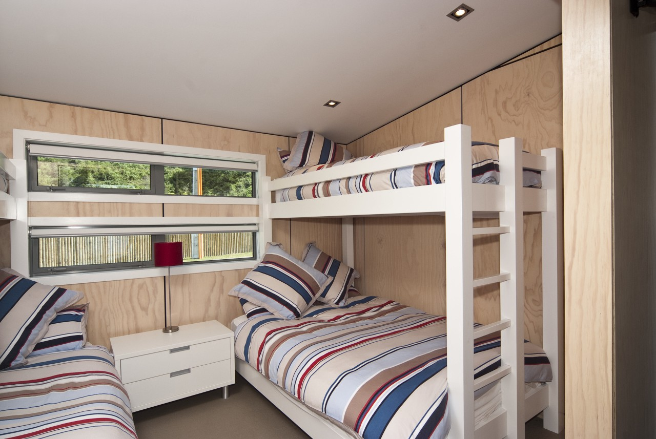 View of the children's room bed, bedroom, bunk bed, furniture, real estate, room, gray
