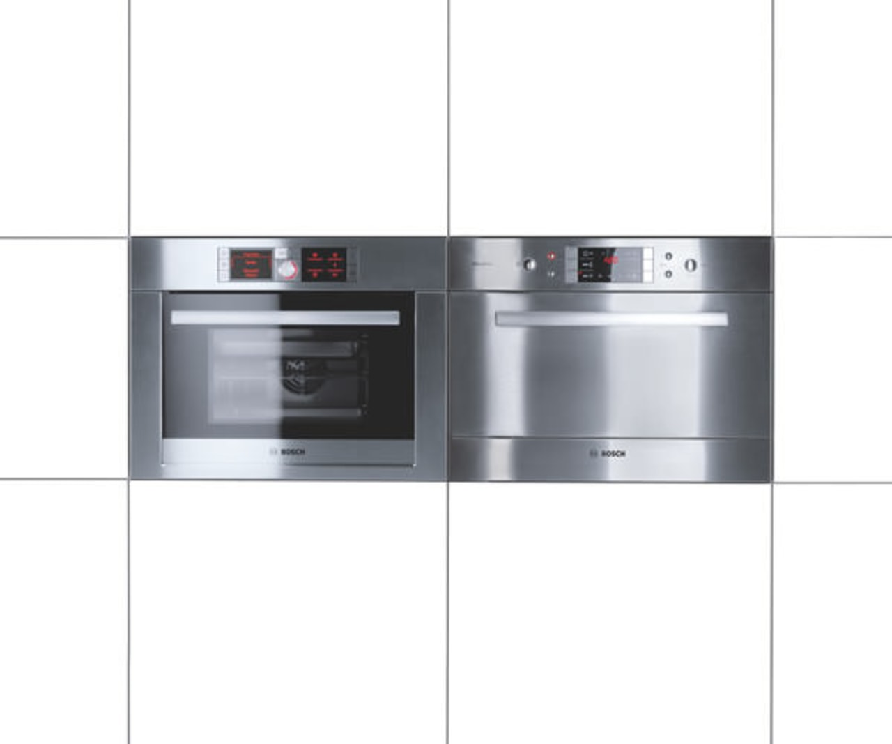 View of a minimal kitchen which features white home appliance, kitchen appliance, major appliance, product, product design, white
