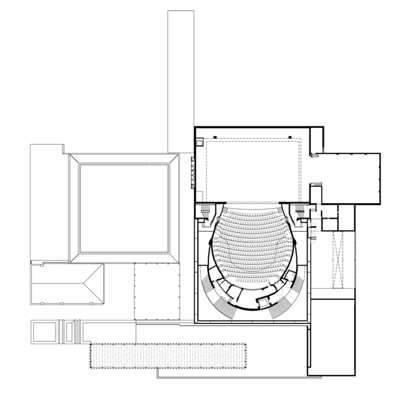 This is the Perth State Theatre, designed by angle, area, black and white, design, diagram, drawing, floor plan, line, product, product design, square, structure, white