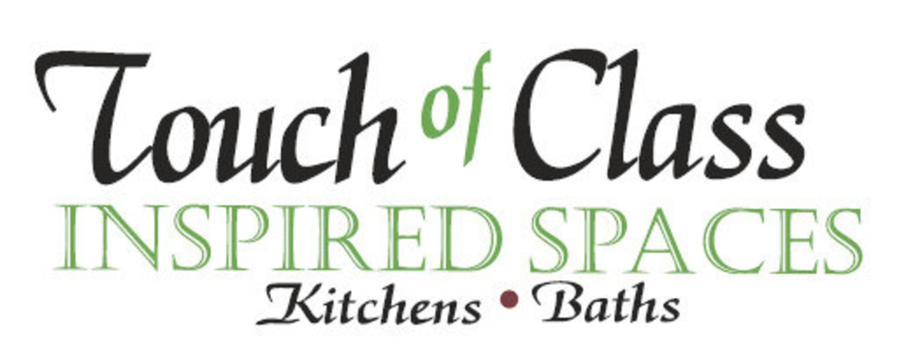 This is the Touch of Class - Kitchens area, brand, font, line, logo, product, text, white