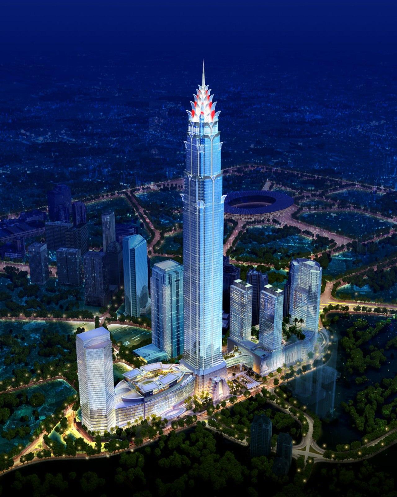 View of tower from above. aerial photography, bird's eye view, building, city, cityscape, daytime, landmark, metropolis, metropolitan area, night, sky, skyline, skyscraper, tower, tower block, urban area, blue