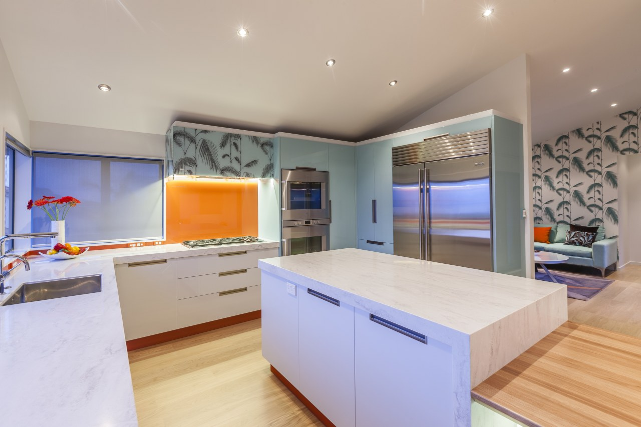 This kitchen was designed and built by Mal countertop, interior design, kitchen, real estate, room, gray