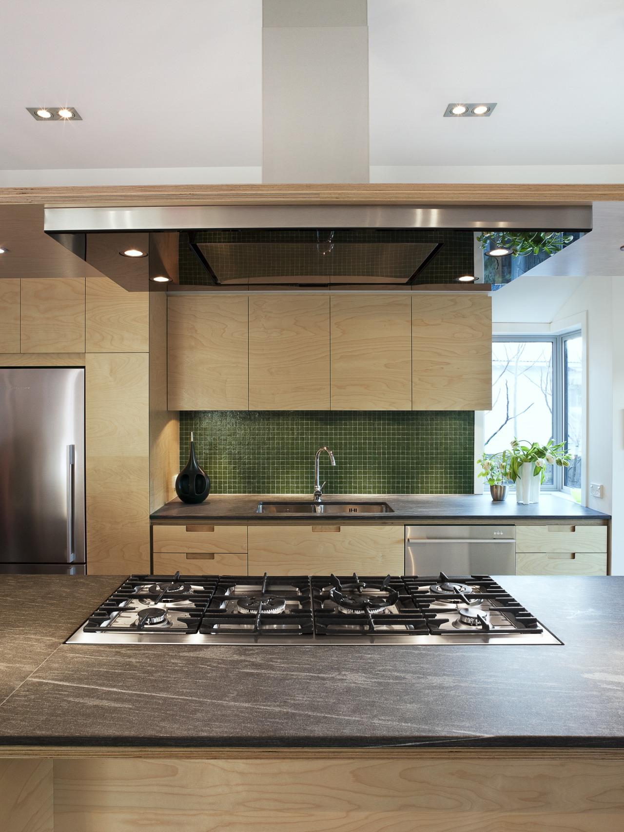Chefs choice  Natalie Du Bois chooses Fisher architecture, countertop, floor, flooring, interior design, kitchen, gray