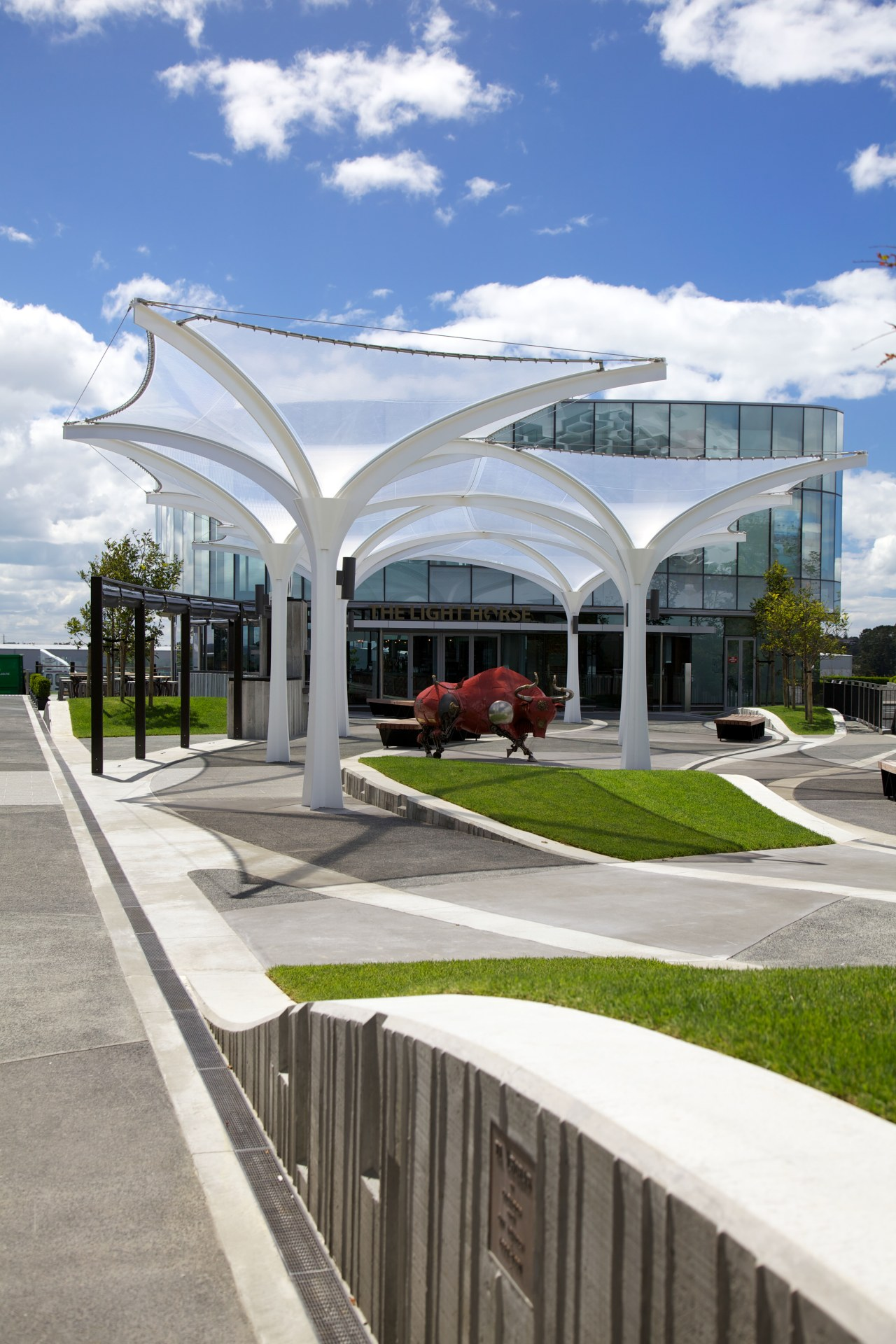 Mace Contractors were responsible for all the landscaping architecture, building, corporate headquarters, mixed use, real estate, residential area, structure, white