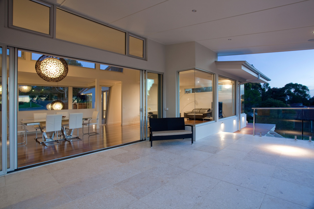 Lifestyle new home by Graeme Alexander Homes estate, floor, house, interior design, lobby, property, real estate, gray