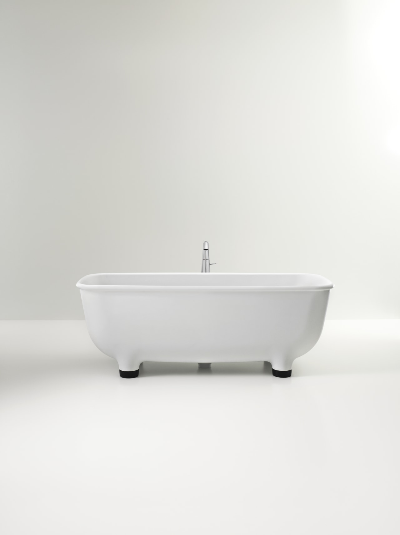 Caroma Marc Newson Collection bathroom sink, bathtub, plumbing fixture, product design, tap, white