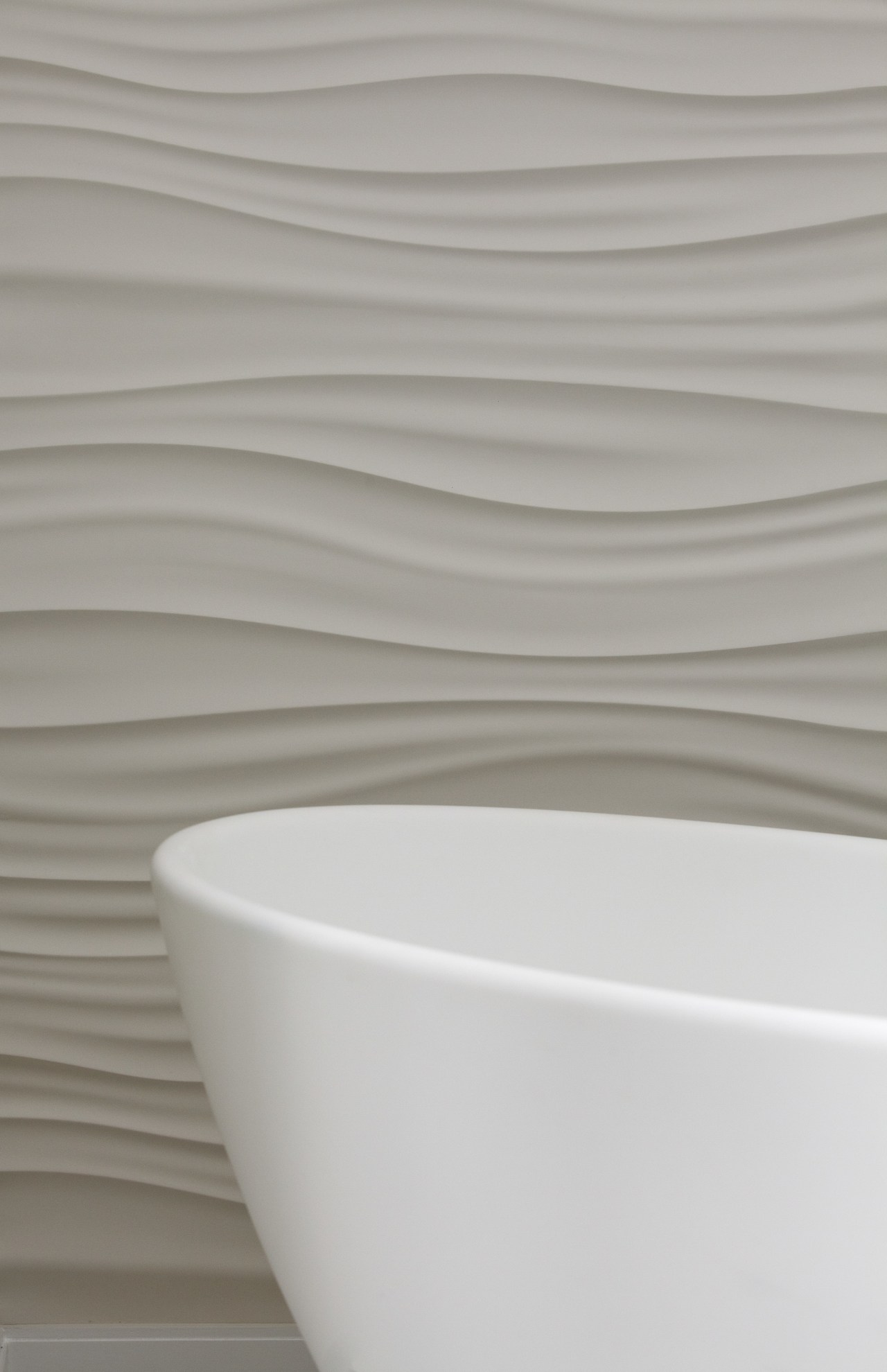 This all-white bathroom replaces a dated master bathroom ceramic, product design, tableware, tap, toilet seat, gray