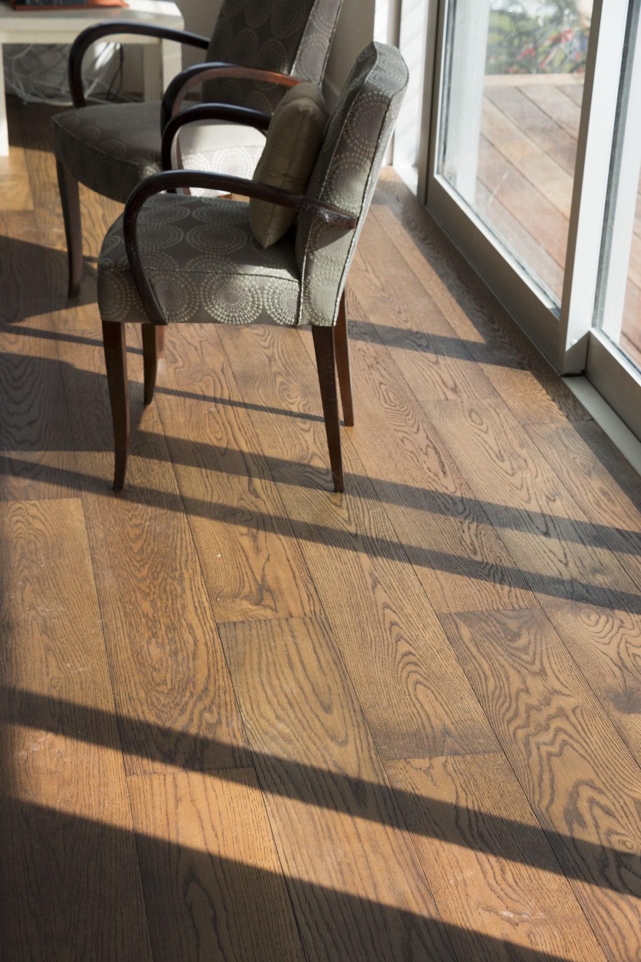 creative flooring prefinished hardwax oiled wood floors are chair, floor, flooring, furniture, hardwood, laminate flooring, tile, wood, wood flooring, wood stain, orange, black