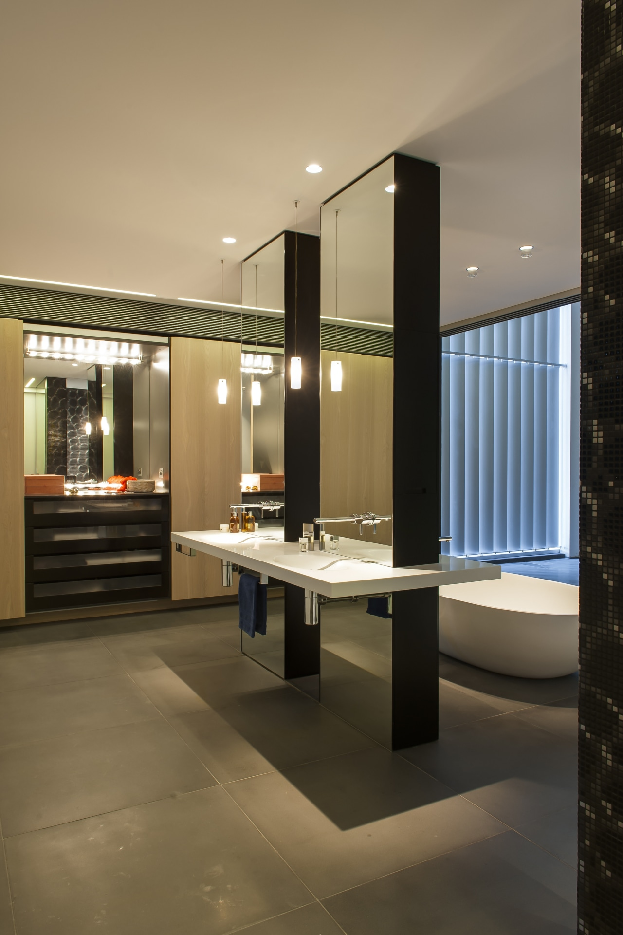 HIA bathroom design of the year architecture, interior design, lobby, brown, black
