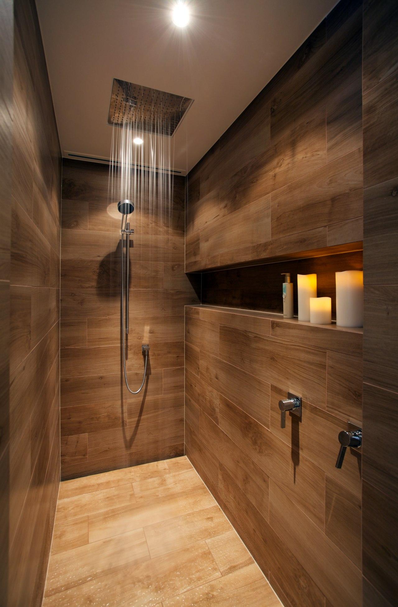 Italian porcelain tiles resembling timber planks contribute to architecture, bathroom, floor, flooring, hardwood, interior design, laminate flooring, lighting, room, tile, wall, wood, wood flooring, wood stain, brown