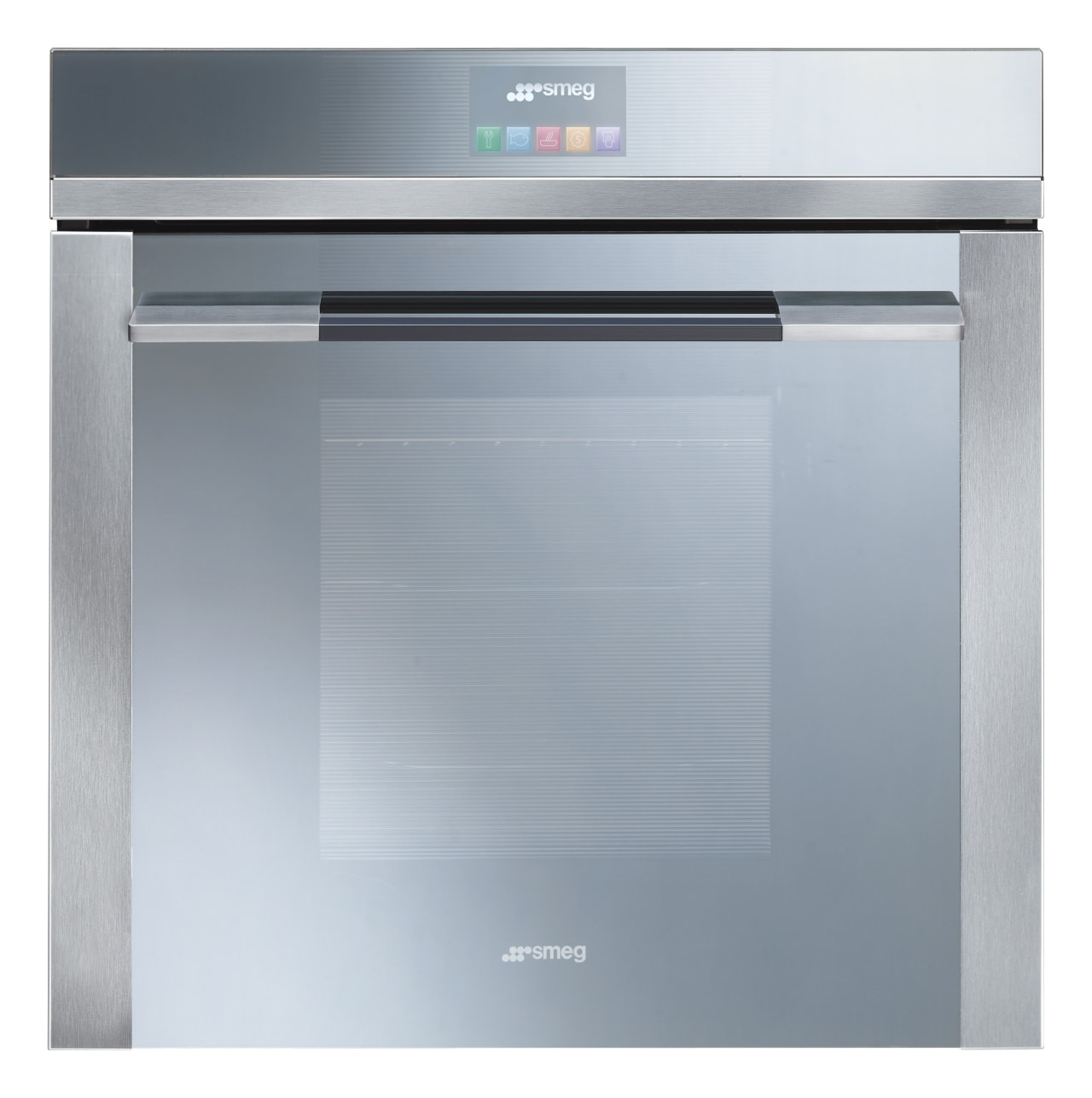 Top-of-the-range Smeg SPFA 140, which is operated purely home appliance, kitchen appliance, oven, product, product design, gray