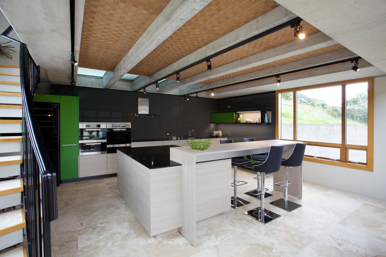 See more of this Lara Farmilo kitchen architecture, countertop, house, interior design, kitchen, loft, gray