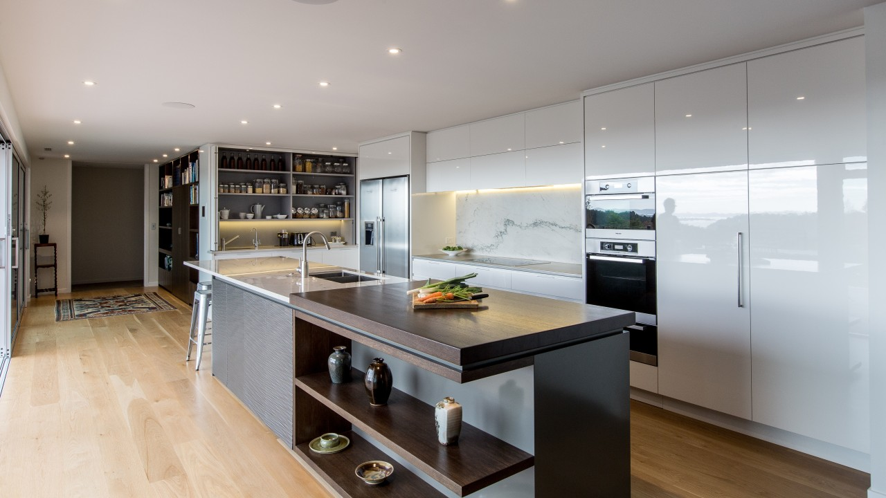 This kitchen reflects the level of skill, planning cabinetry, countertop, cuisine classique, interior design, kitchen, real estate, room, gray
