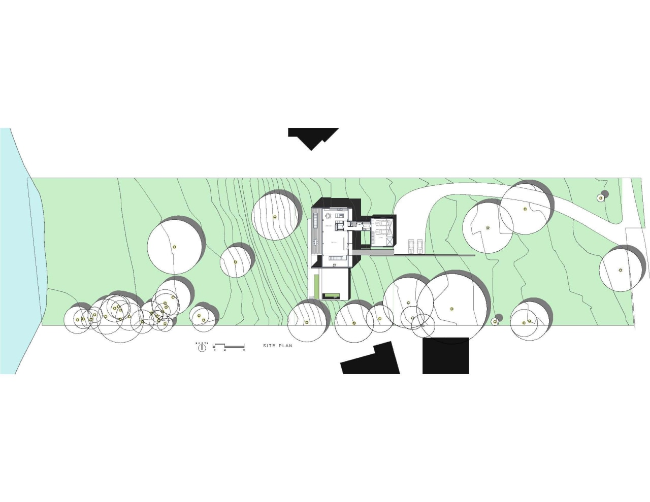 Lay of the land  this house is area, cartoon, design, diagram, font, green, pattern, product, product design, text, white