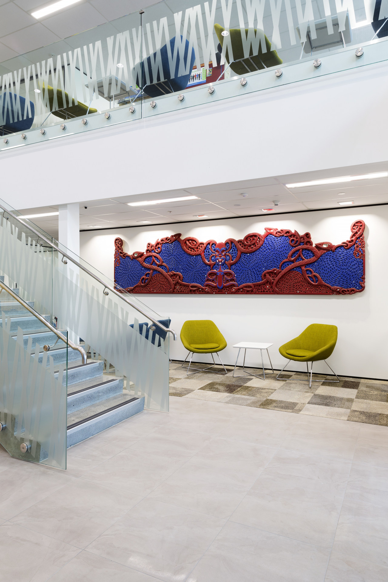 :This new maternity wing built and project-managed by floor, product design, gray