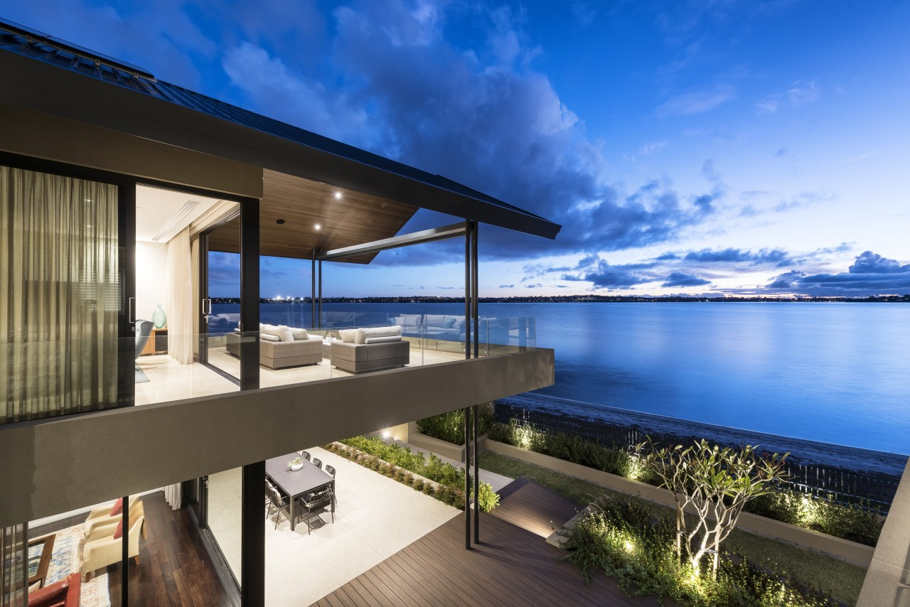 This house is all about providing different functional apartment, architecture, condominium, estate, home, house, penthouse apartment, property, real estate, resort, sky, swimming pool, villa, blue