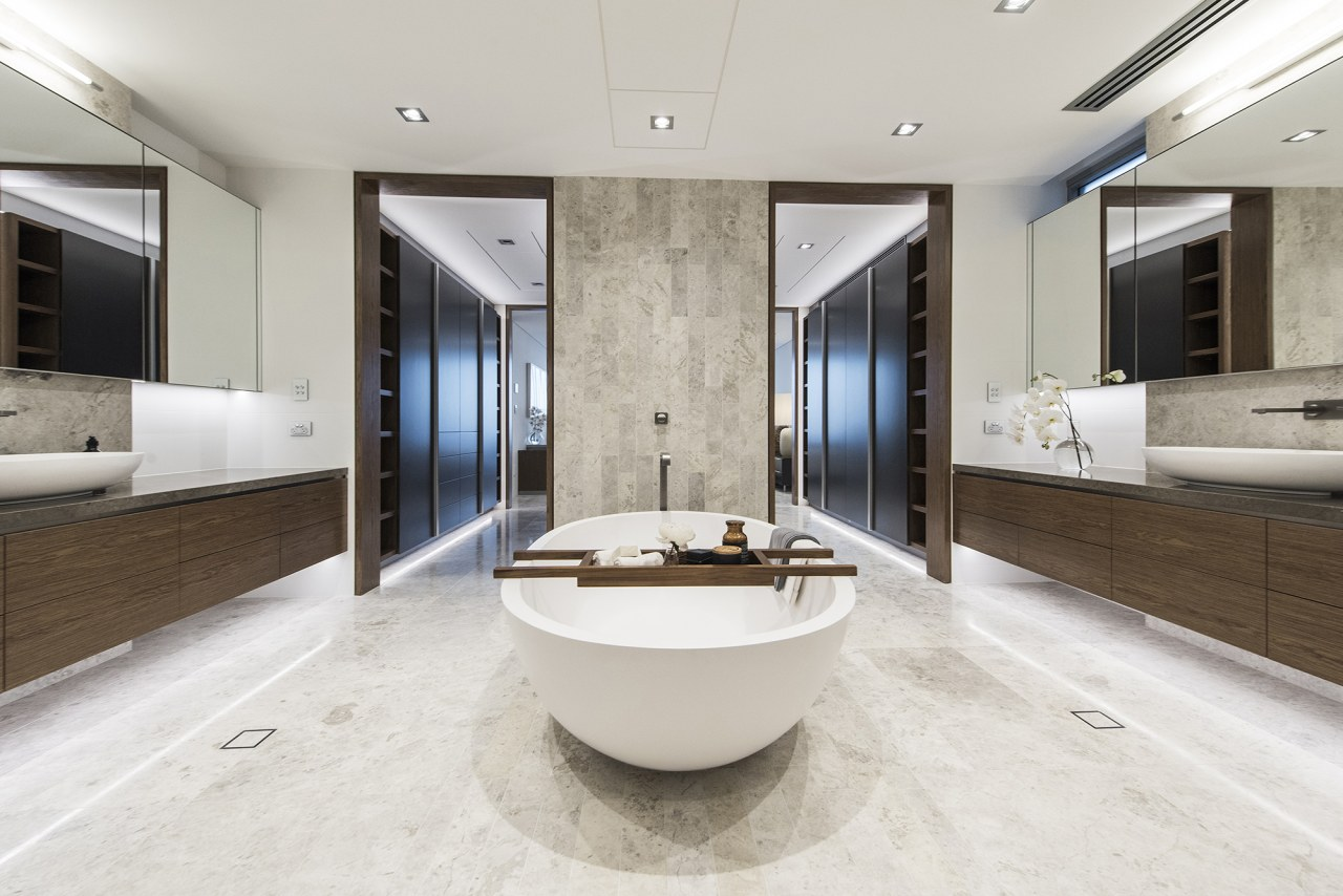 Giorgi –  Winner of the 2018 TIDA bathroom, estate, floor, interior design, real estate, sink, white