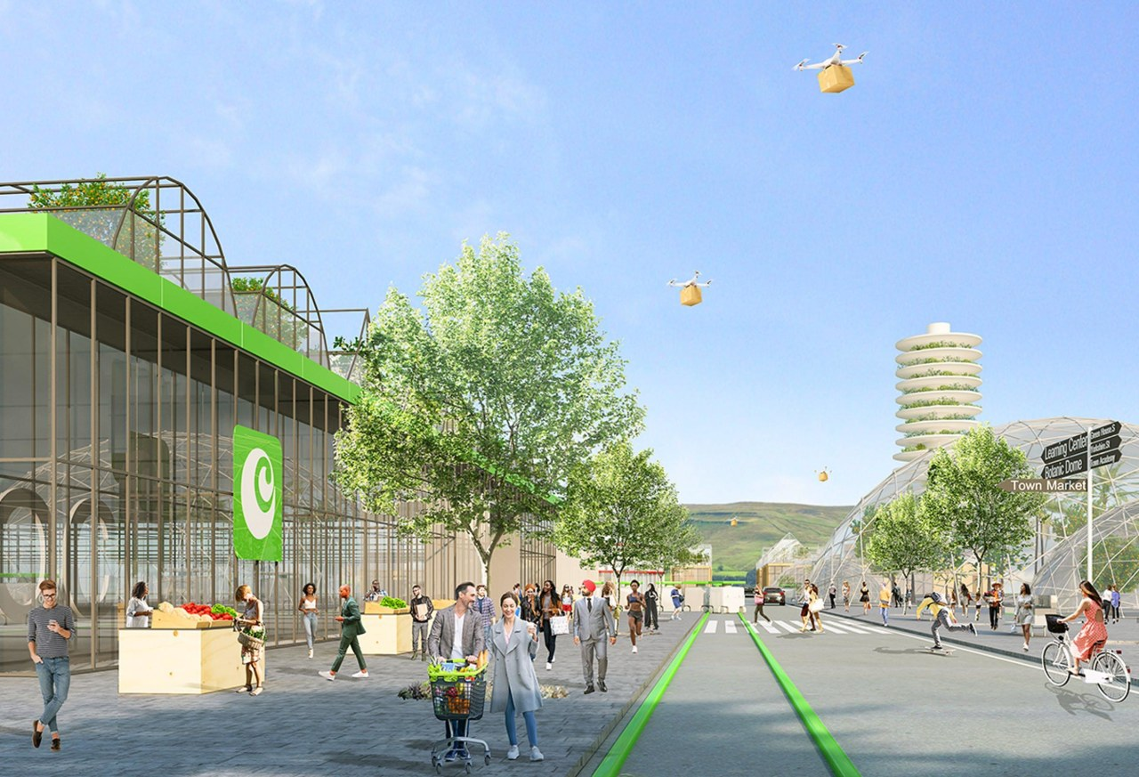 Inspired by Ocado's ground-breaking automated warehouses, the company's