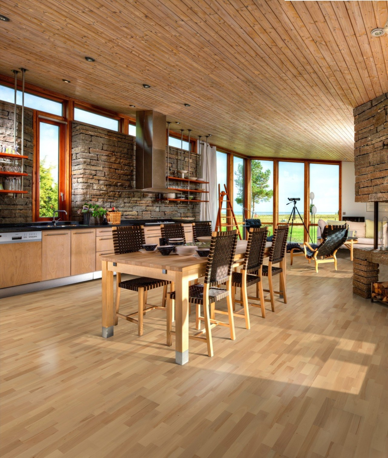 Beech Viborg is a floor that mixes the