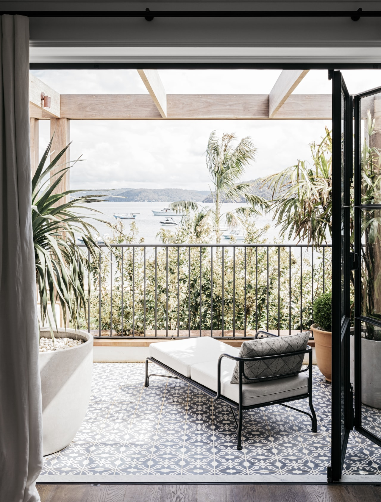 The renovation takes a restrained approach to a