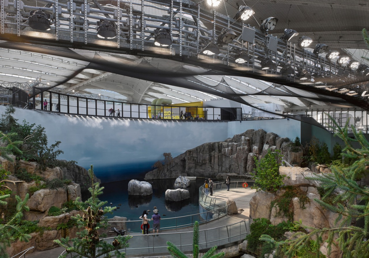 The Gulf of St-Lawrence Ecosystem. - Redesigned Biodome