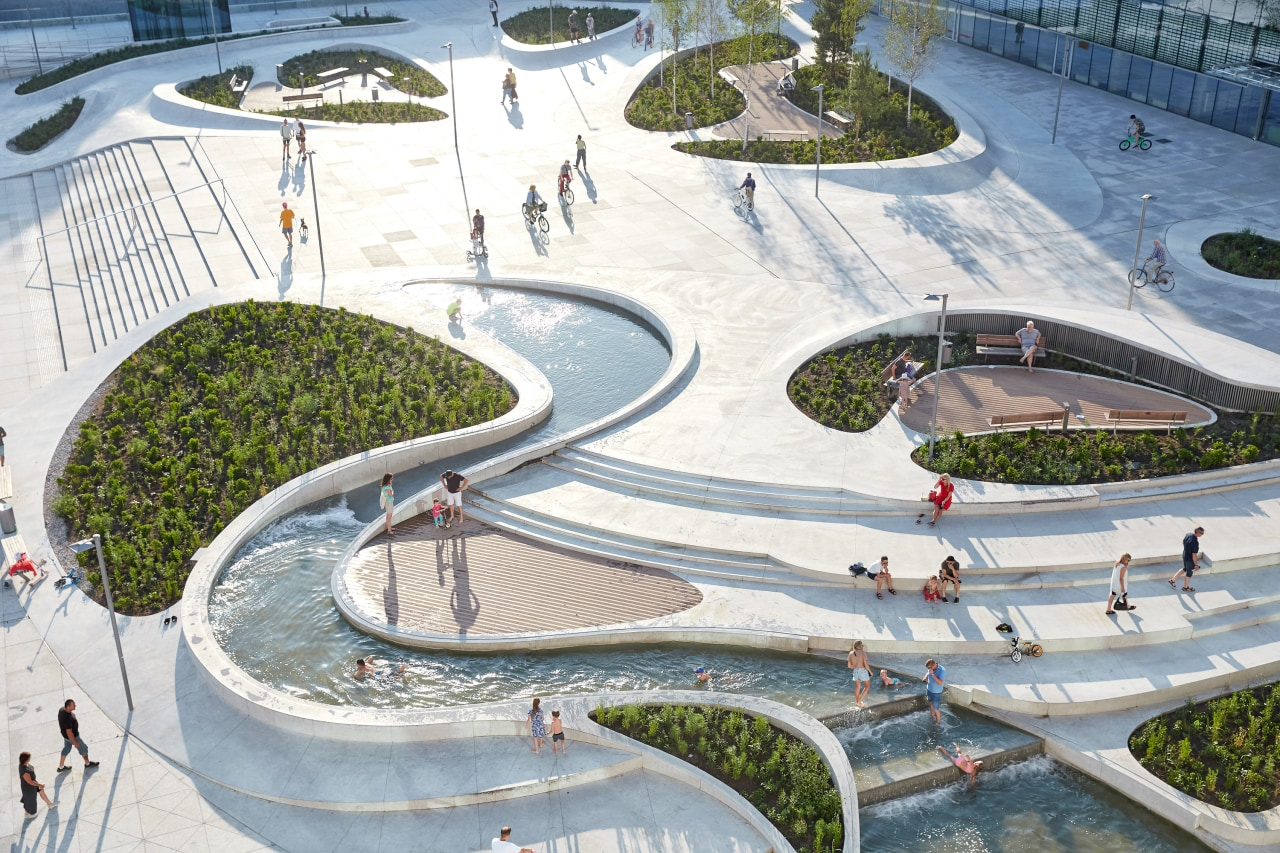 The V-Plaza project in Lithuania, the brainchild of