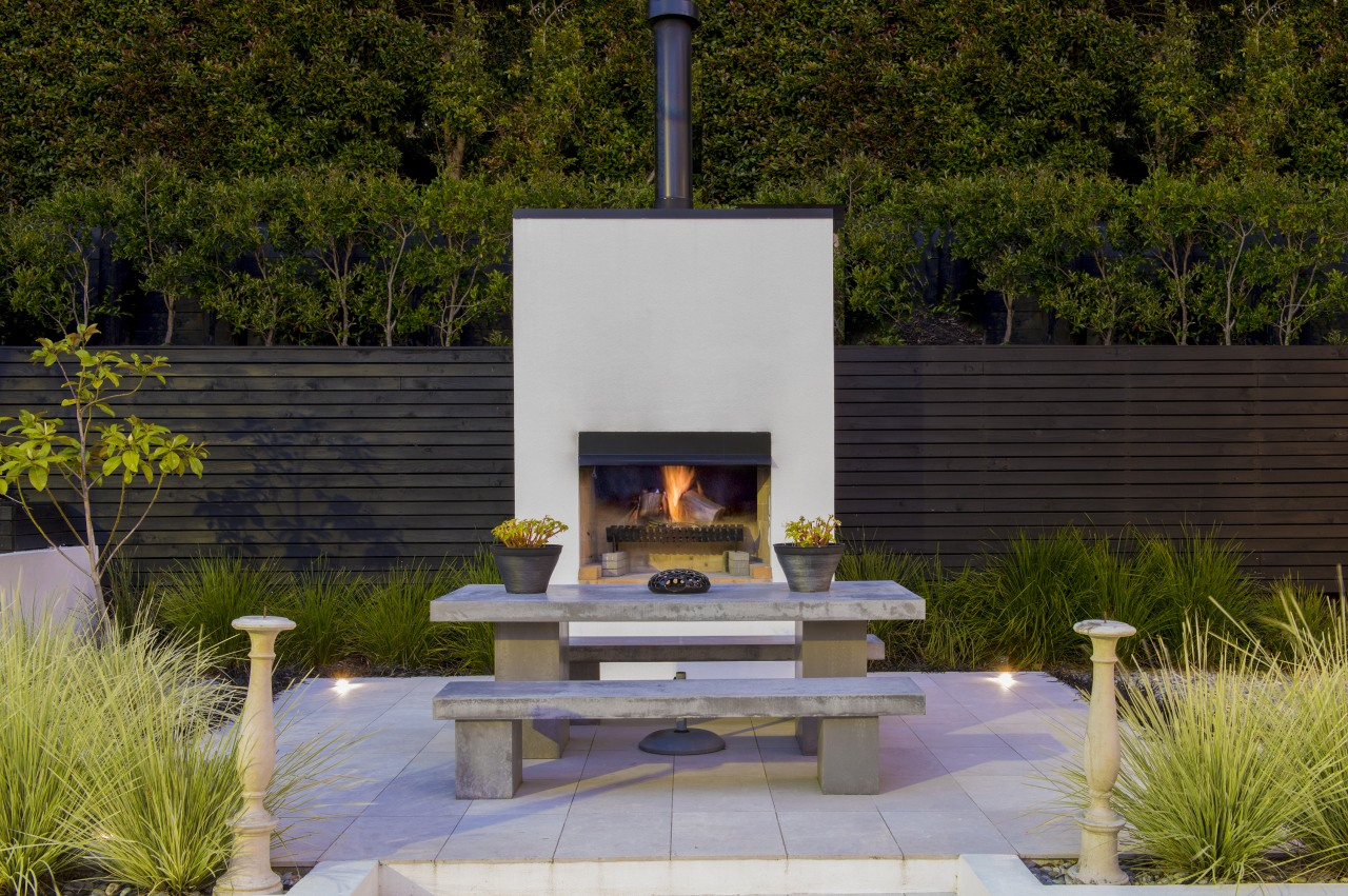This outdoor setting is new and provides a