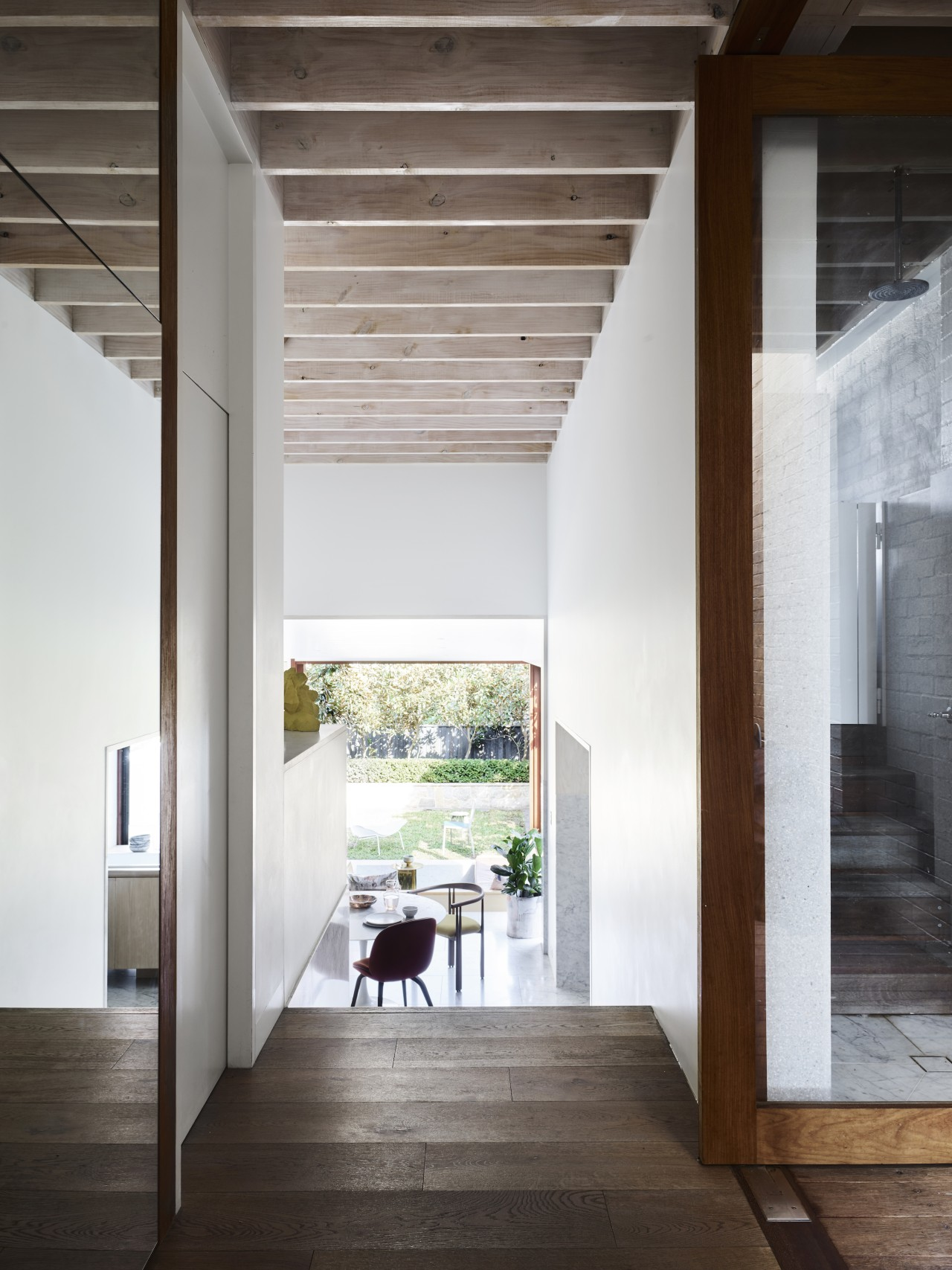 Entry to the kitchen. - A renovation that