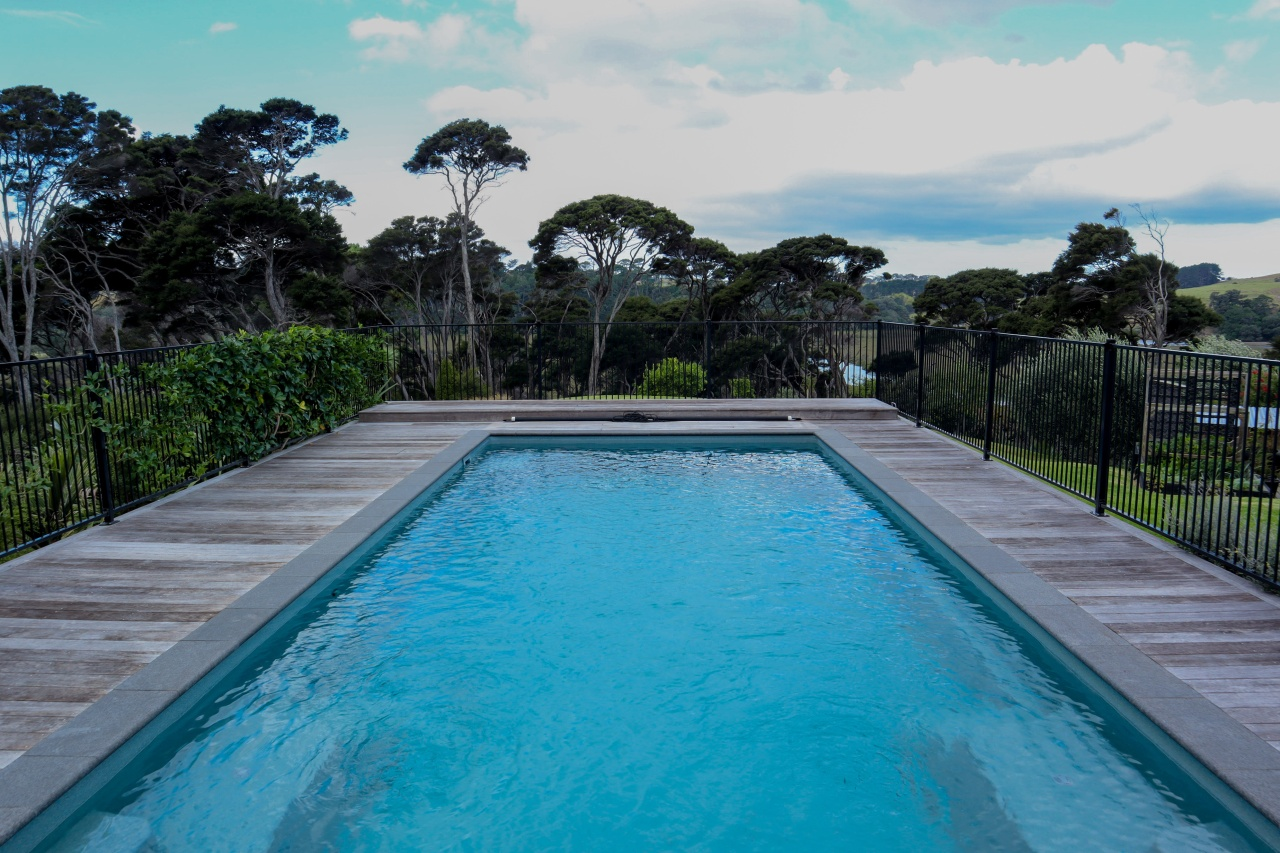 A high standard of pool, service and follow-up