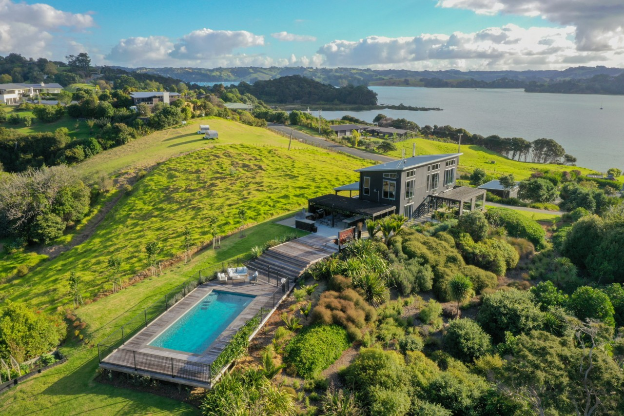 Paradise – just add water. The NZ Pool