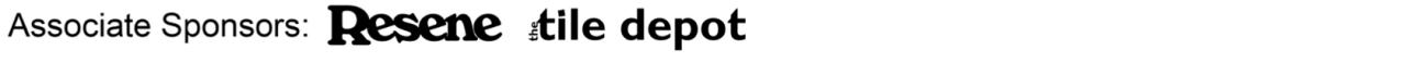 Associate sponsors MEDIUM Resene Tile Depot -