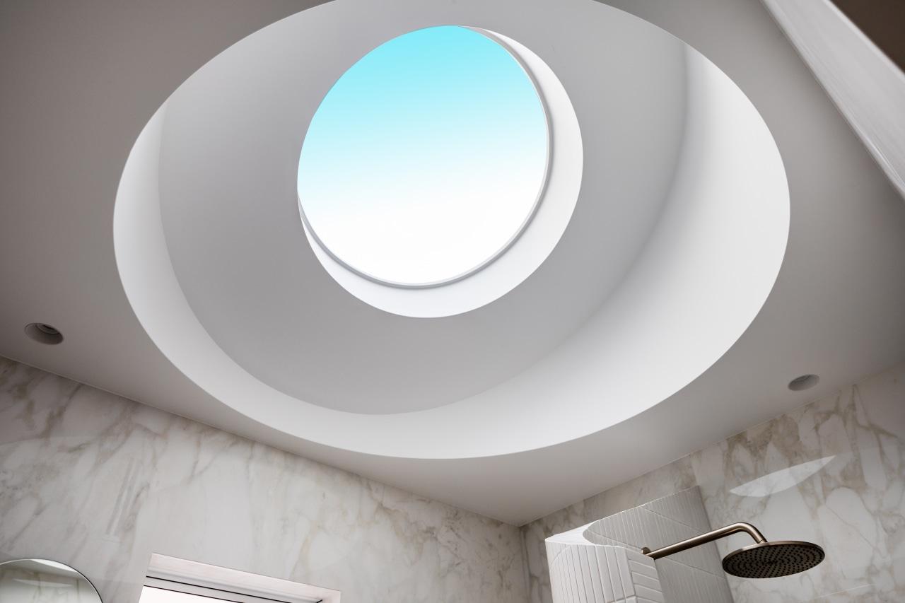 Eye in the sky? The new skylight floods