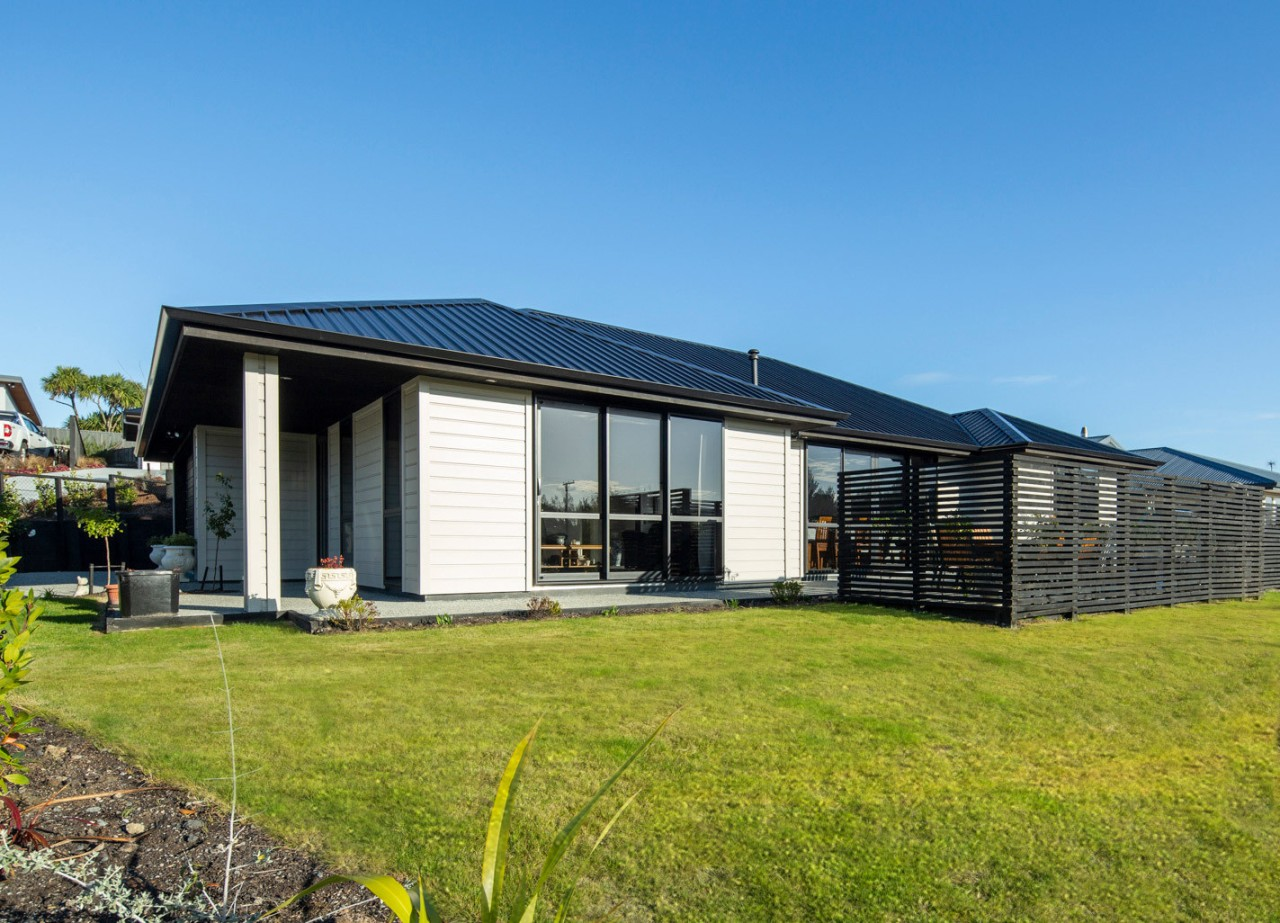 Envira Rusticated Weatherboard Home In Otago - cottage cottage, facade, home, house, property, real estate, teal