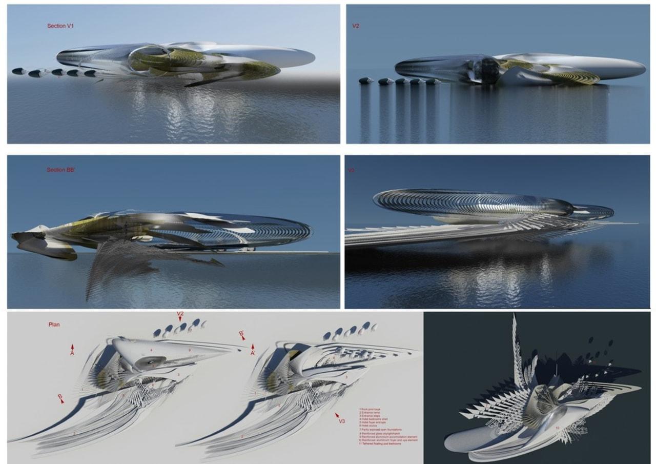 Harmonic Turbine Tidal Hotel fauna, fish, fishing bait, fishing lure, herring, organism, sardine