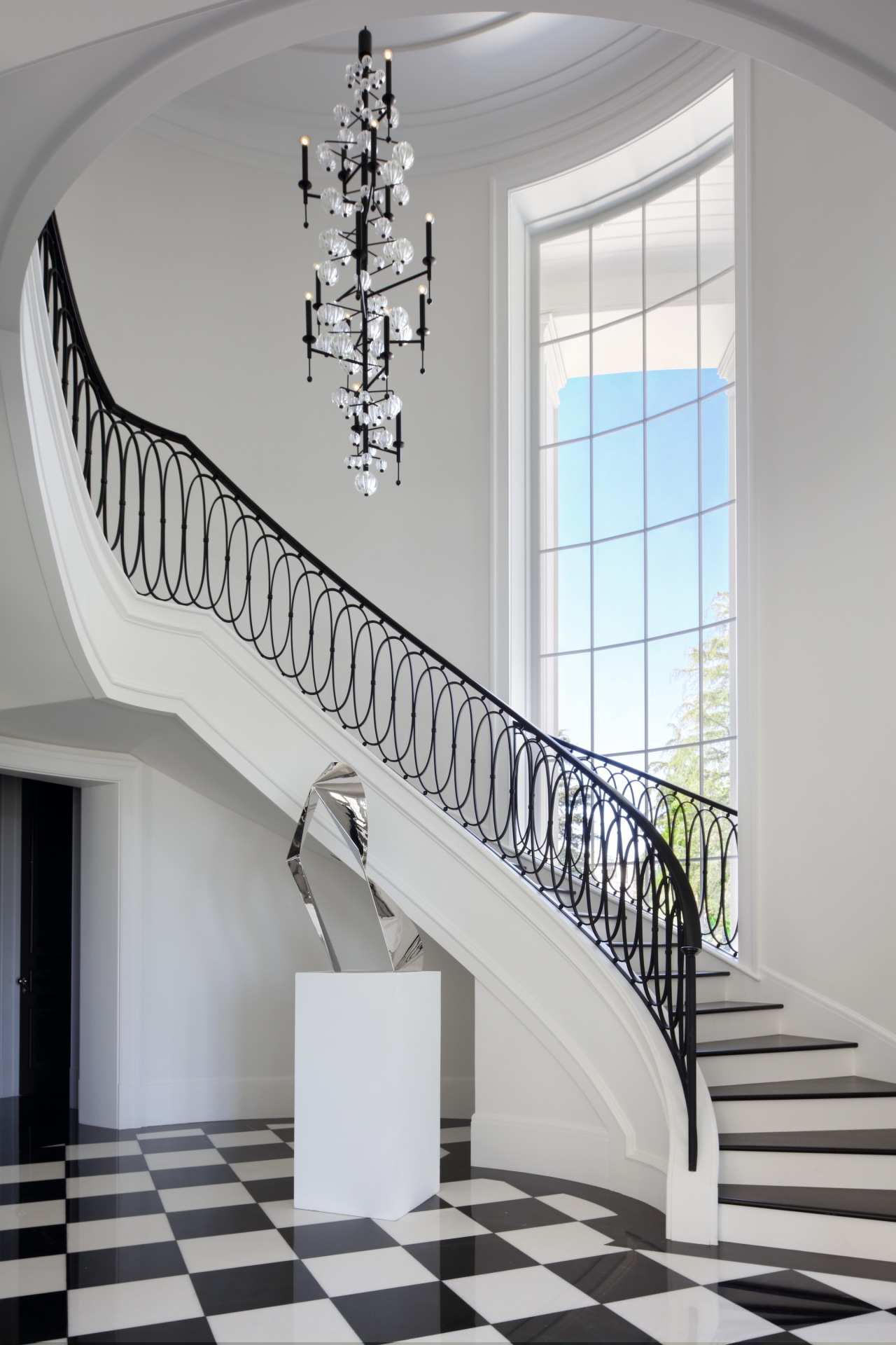 """Architect Richard Landry: """"For this stair, we applied"""