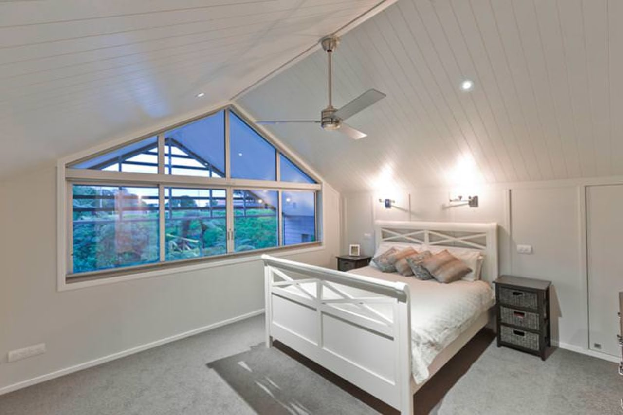 Innerior bedroom, ceiling, daylighting, estate, home, interior design, property, real estate, room, window, gray