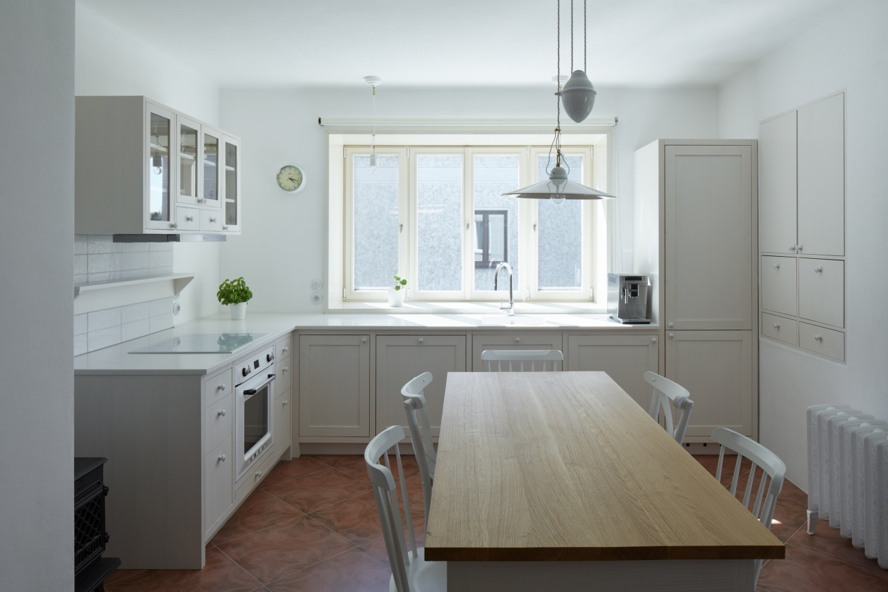 The reworked heart-of-the-house kitchen.