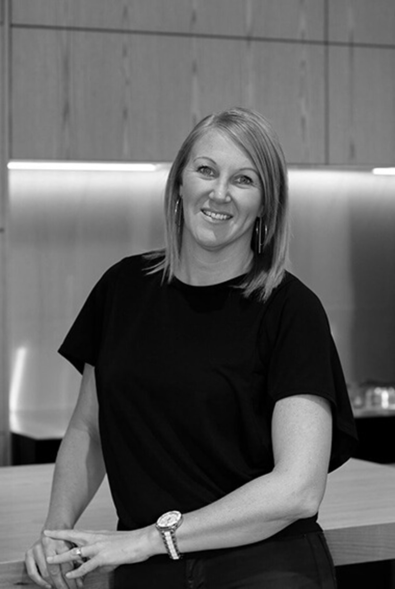 Professional designer Leonie Hamill, director of Cube Dentro,