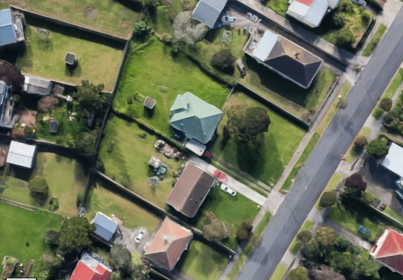 How to reap rewards from your under-utilised section aerial photography, bird's eye view, estate, home, house, neighbourhood, real estate, residential area, suburb, urban design, gj gardner homes,  knockdown rebuild,  subdivide,  land, house