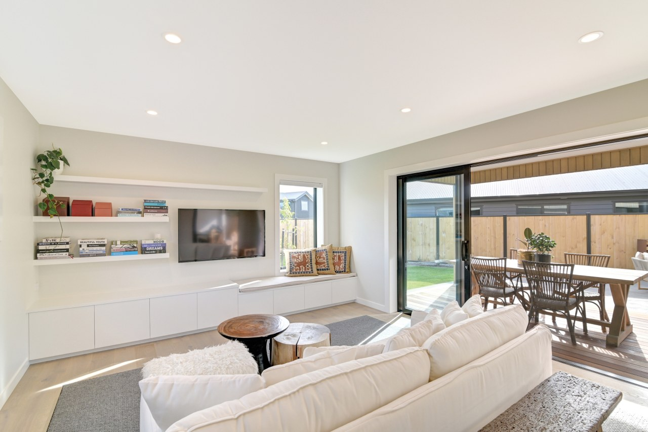 ​​​​​​​The primary lounge in this GJ Gardner showhome