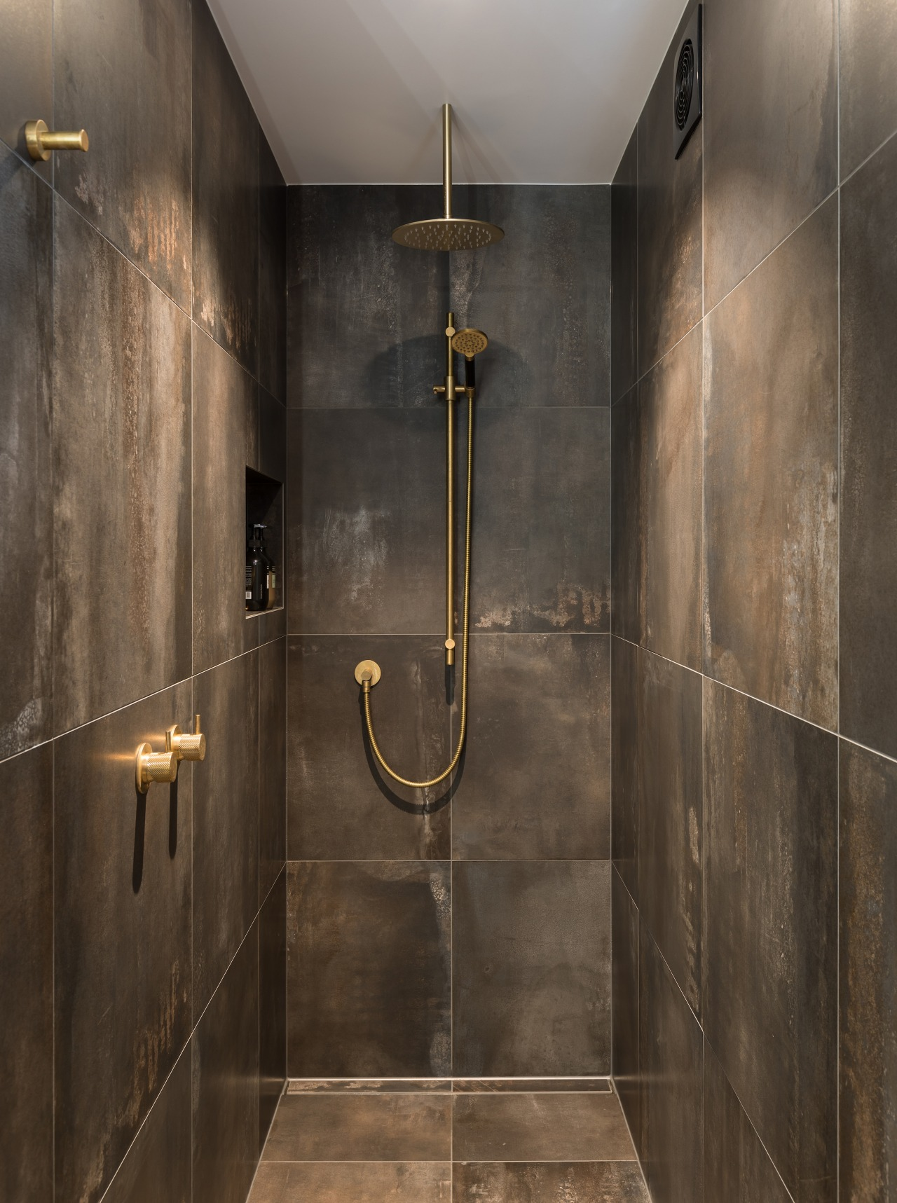 Showered in options – whether from the ceiling