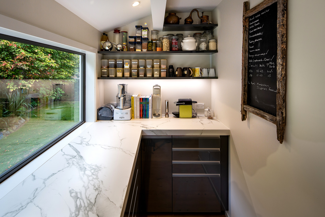 Utility space with quite a view. Even the