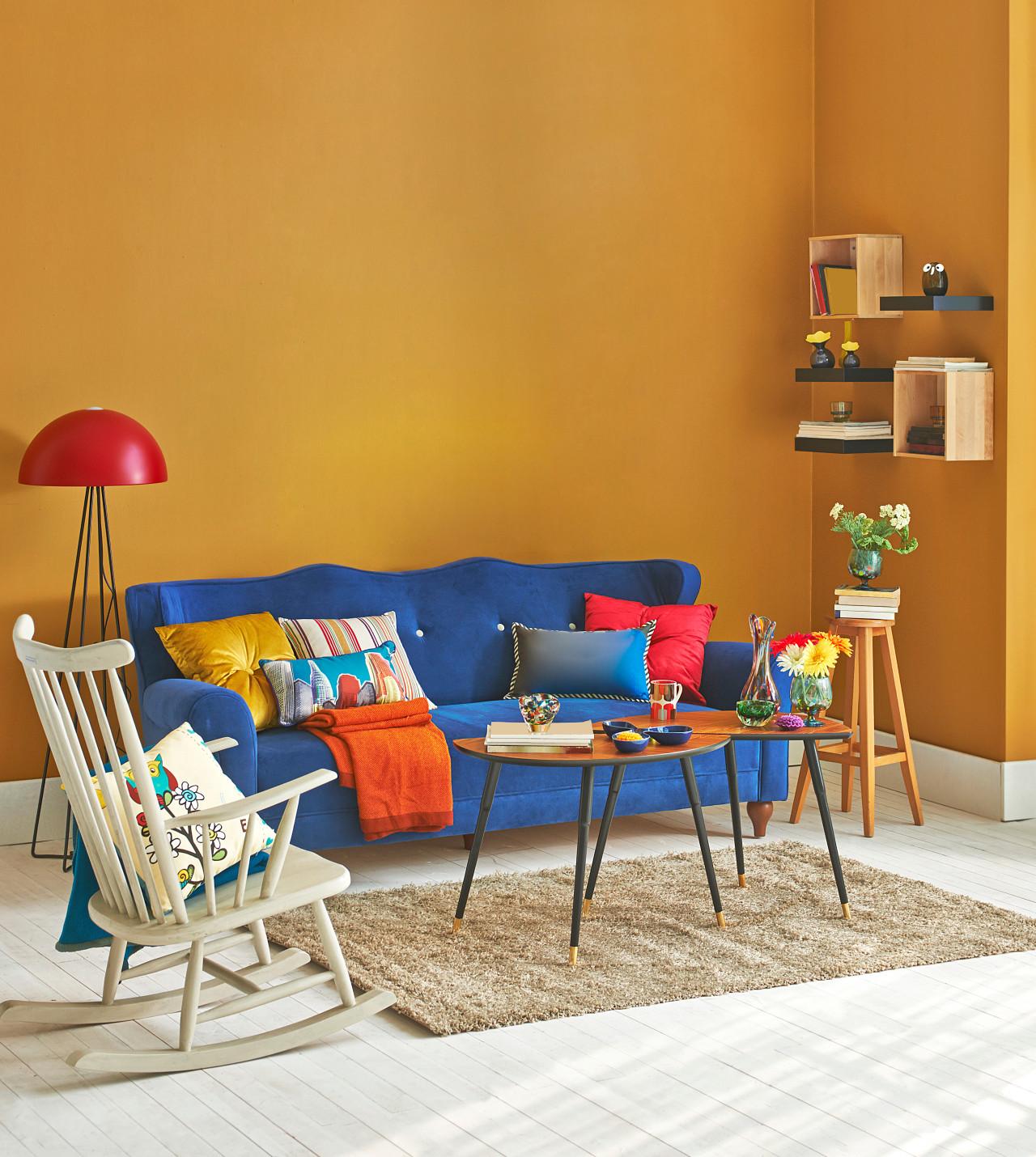 Postmodern design – vibrant and playful – seems