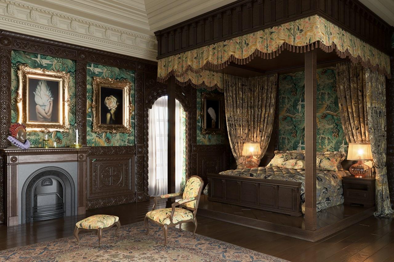 Queen Elizabeth 1's bedroom today. - Re-designing bedrooms