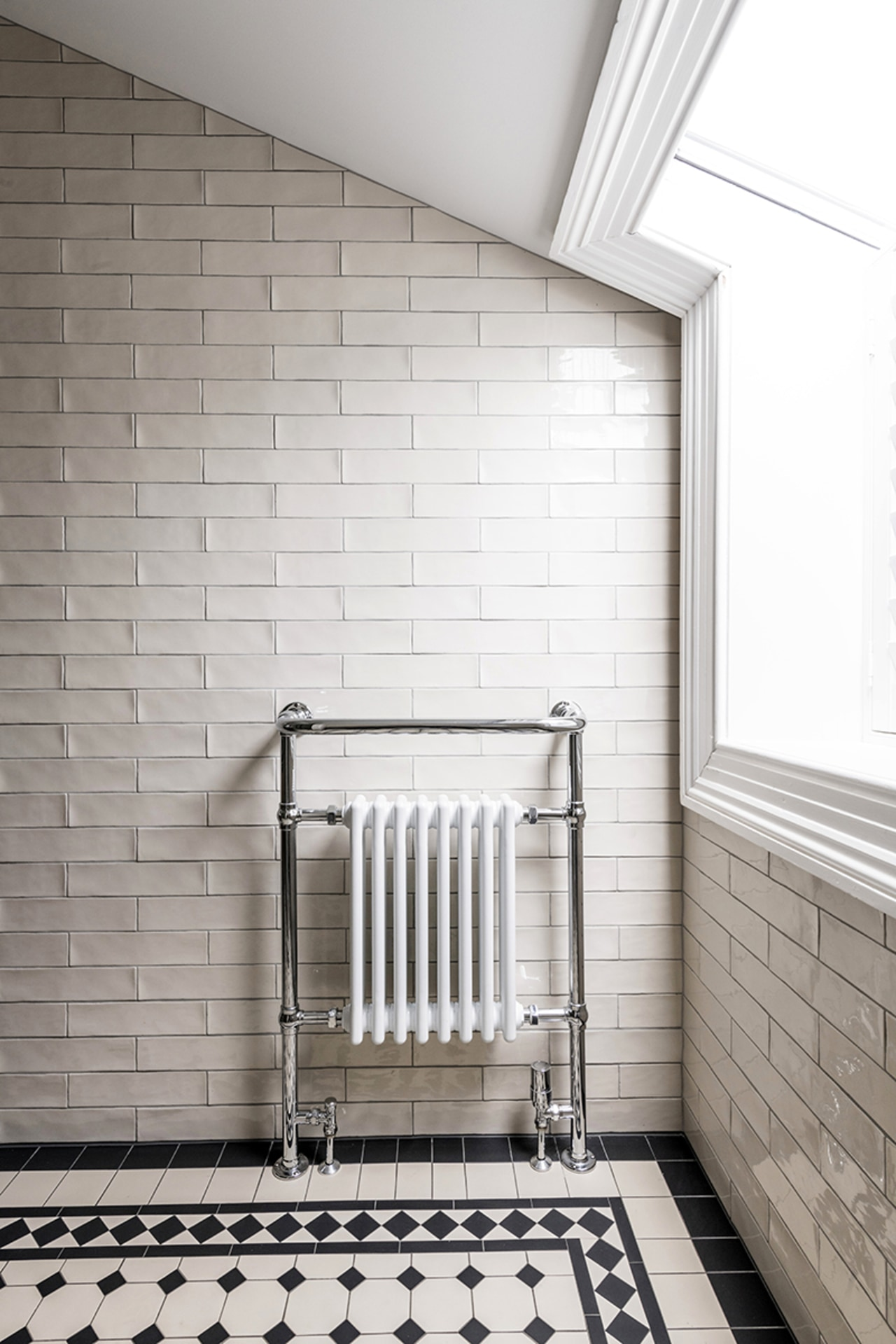 Classic heating meets contemporary add-on functionality. A new white, gray