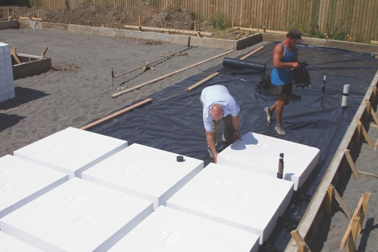 Ready Super Slab – speedy installation - composite composite material, construction, floor, foundation, reinforced concrete, roof, roofer, white, gray