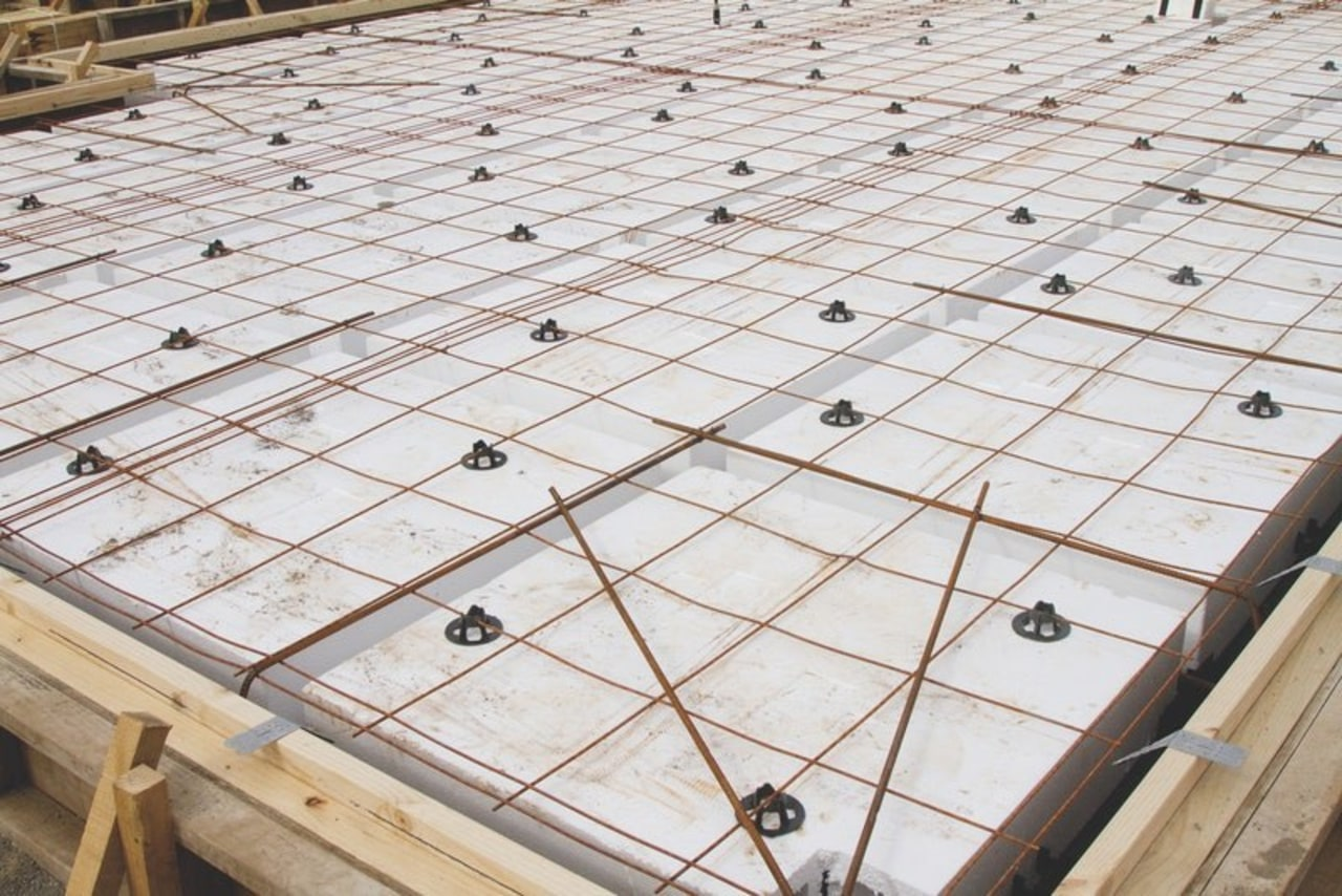 Ready Super Slab – suited to all ground architecture, composite material, daylighting, floor, roof, tile, wood, white