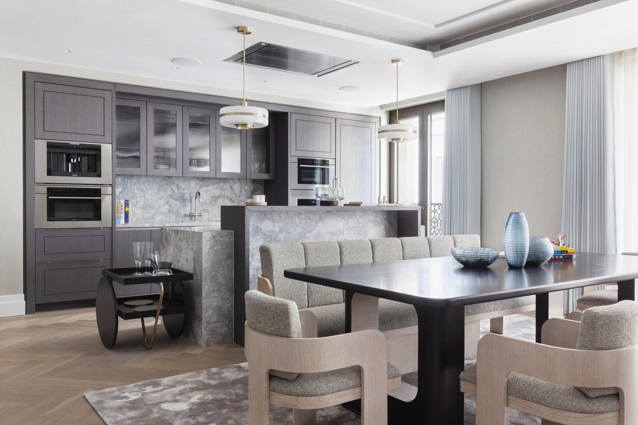 The Singer Suite – dressed apartment – Chelsea