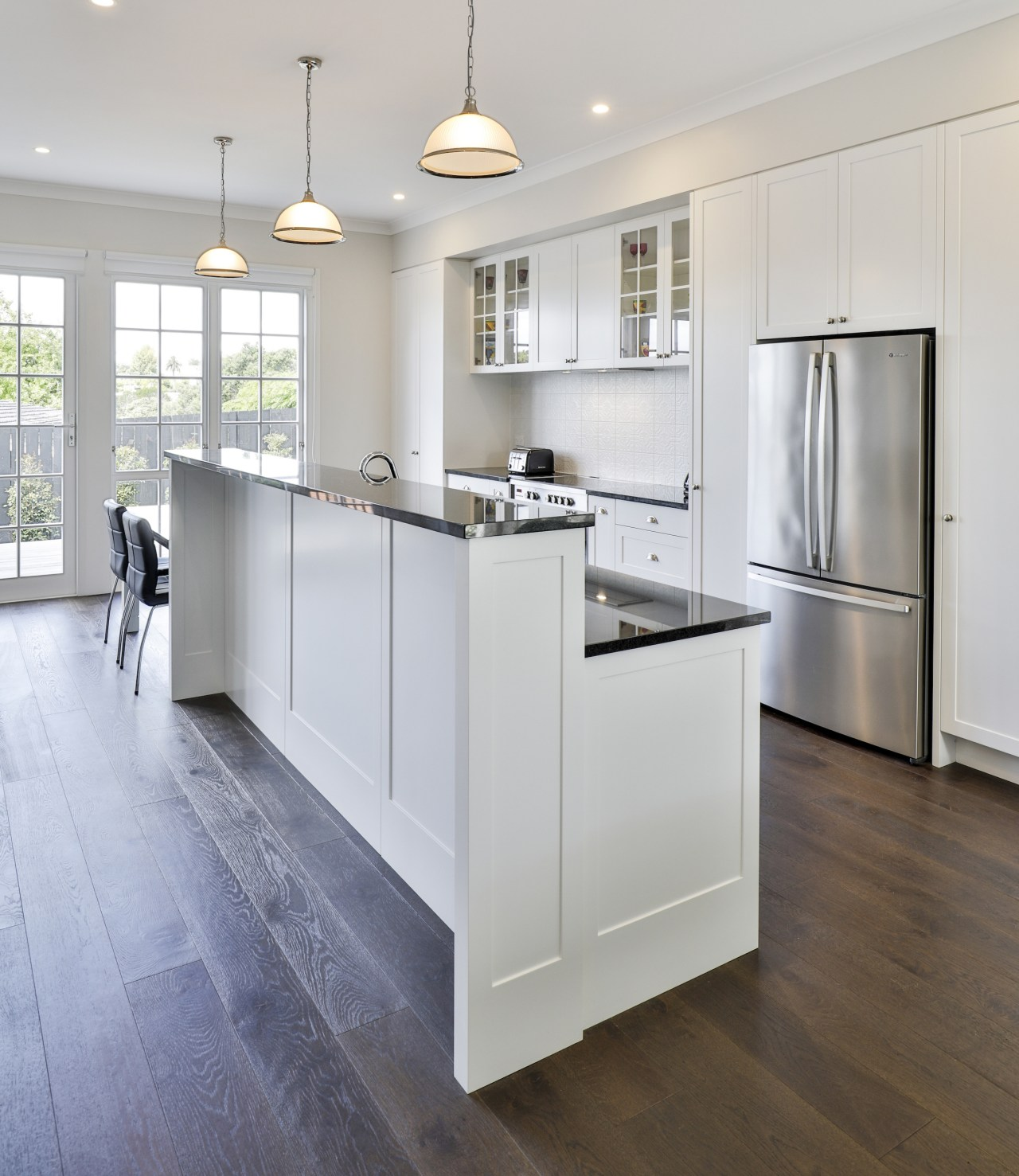 From every angle the kitchen exudes thoughtful design