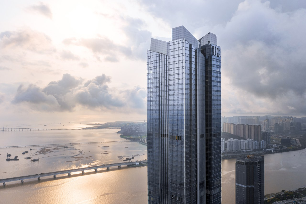 Located on Hengqin Island, a future financial district